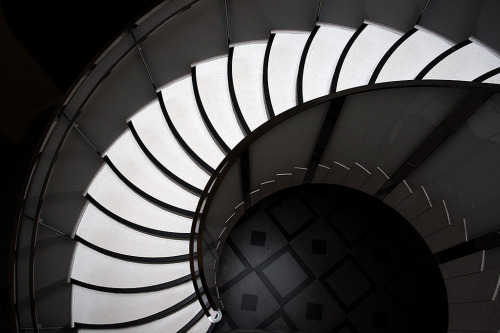 Spiral Steps staircase Architecture of the Victoria and Albert Museum in London England