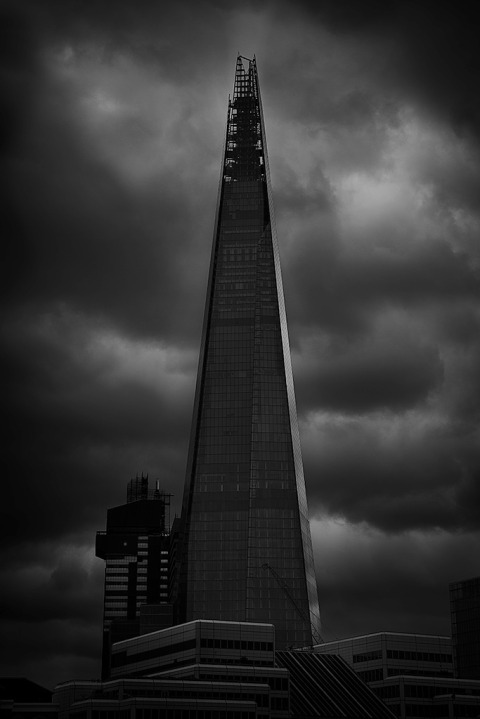 Architecture Shard Building Skyscraper in London England