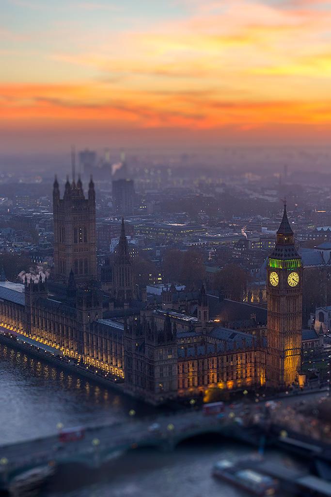 London Color Cityscapes