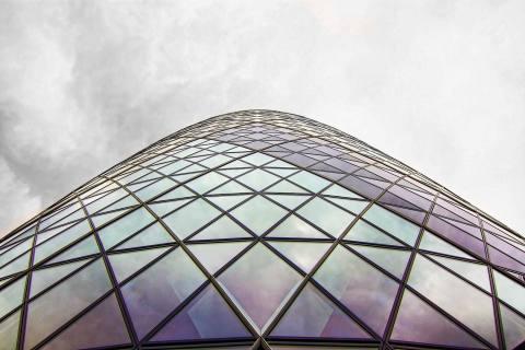 London Gherkin Building glass Windows Architecture City