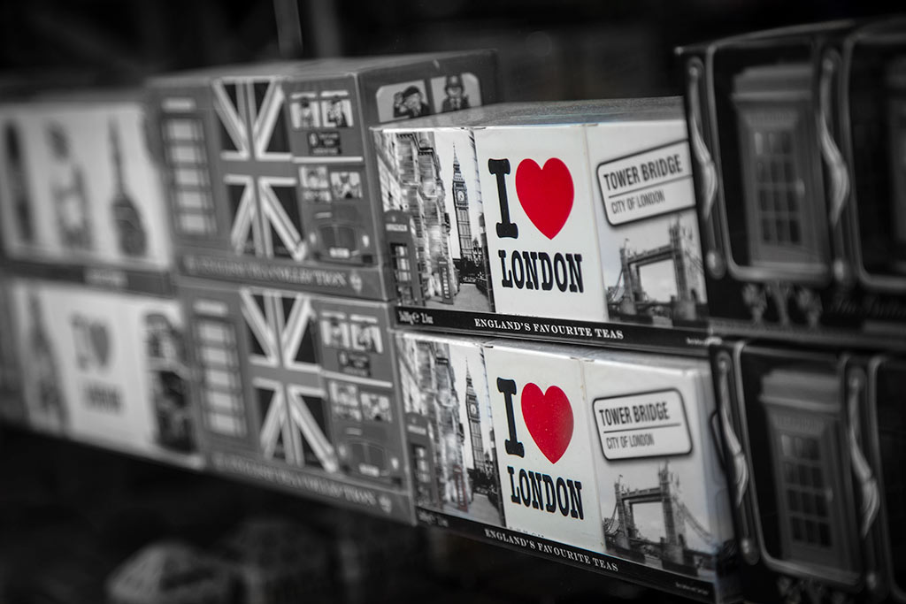 I Heart London Tourist Gifts England
