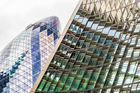 London Gherkin Buildings City Architecture Urban Skyscrapers