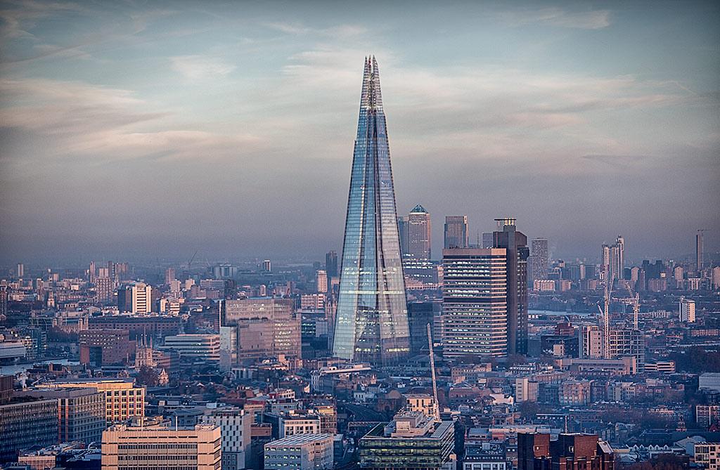 London architecture Shard Skyscraper Building Cityscape