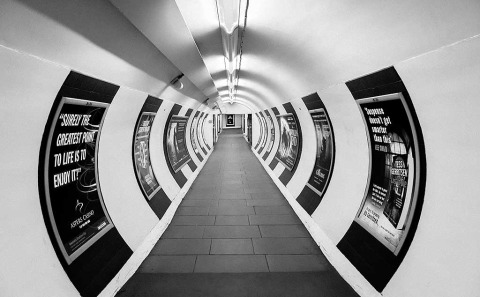 LondonUnderground Train Subway Station Tunnel Architecture