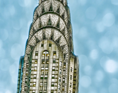 Chrysler Building NYC Soft Sky