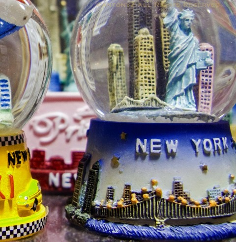 New York NYC snowglobes