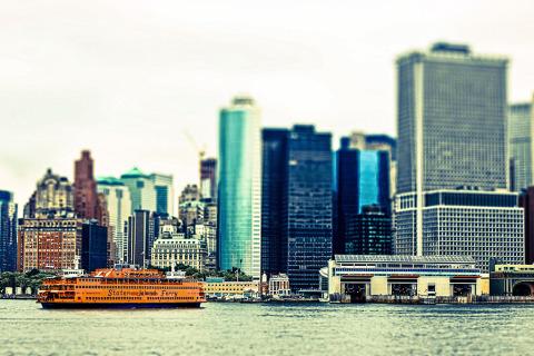 Staten Island Ferry NYC New York City