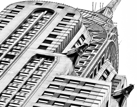 chrysler-art-deco-building-manhattan-NYC-New-York-City-black-and-white