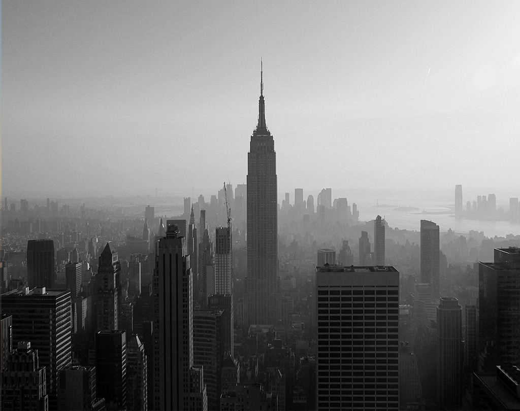 New York Pictures Black And White