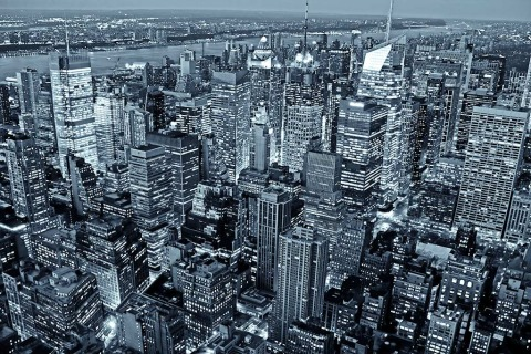 midtown-buildings-night-times-square-manhattan-NYC-New-York-City-black-and-white