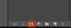 photoshop add layer mask icon highlighted