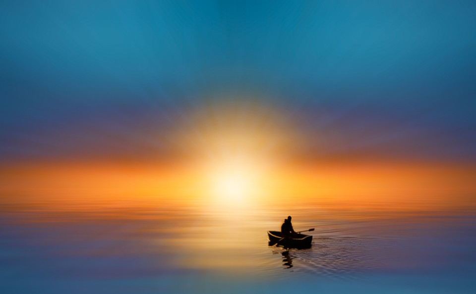 dawn-sunrise-row-boat-waterscape-fine-art