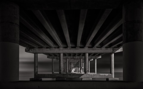 under rickenbacker causeway in miami florida architecture