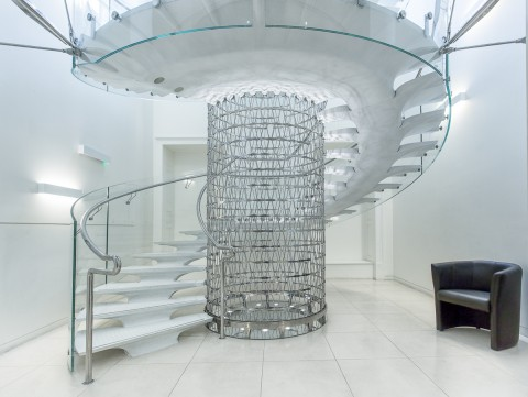 Miles Staircase spiral Somerset House London architecture