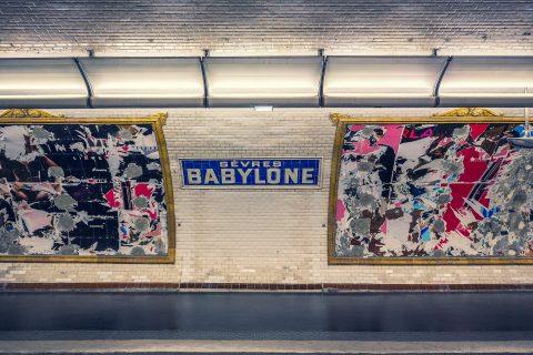 Paris Metro Station Sevres Babylone