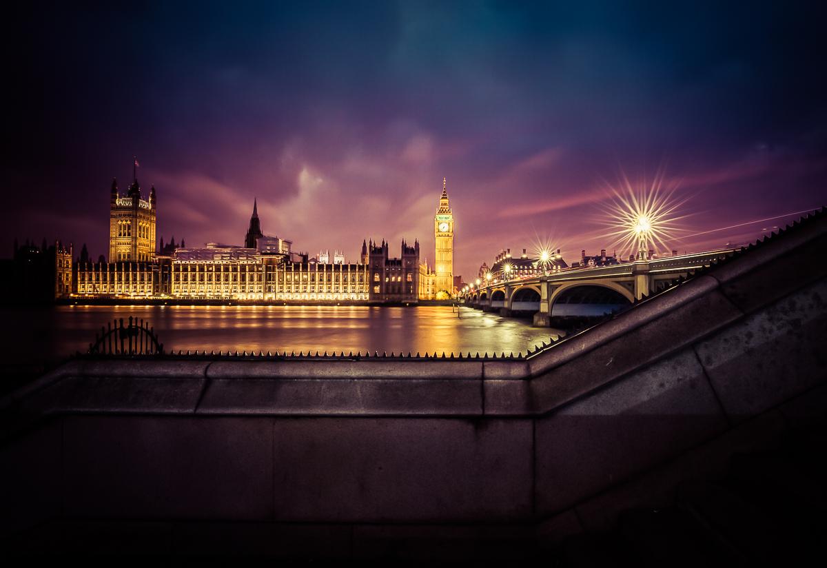 antonyz london westminster palace night lightroom preset 1