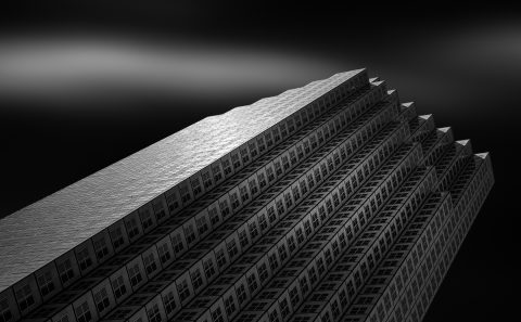 antonyz long exposure architecture miami modern office building study black and white