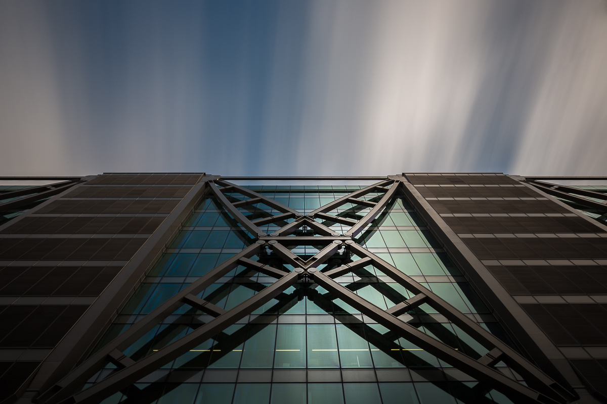 antonyz long exposure architecture modern office building canon street london