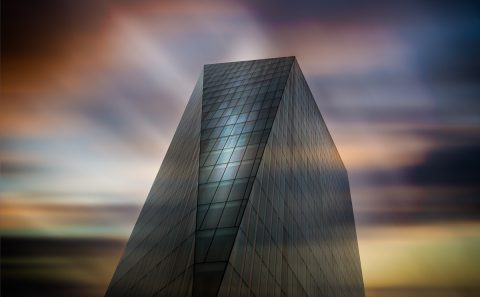 antonyz long exposure architecture modern office building London colour sunset clouds
