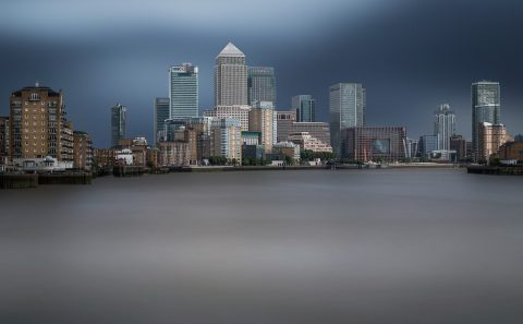 antonyz long exposure architecture skyline London canary wharf docklands
