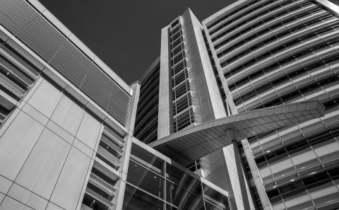 antonyz long exposure architecture modern office building black and white