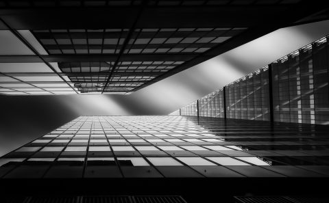 antonyz long exposure architecture modern office building study black and white