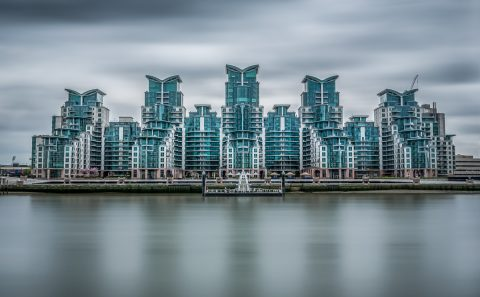 antonyz long exposure architecture skyline London river thames st georges wharf