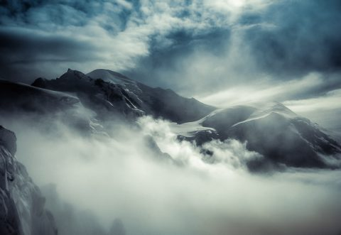 antonyz long exposure landscape mountains clouds storm alps france