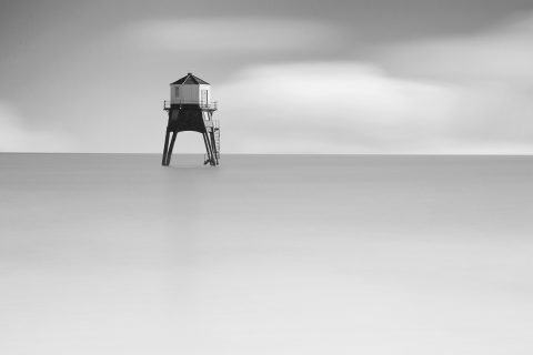 antonyz long exposure landscape tranquil ocean scene lighthouse essex calm water
