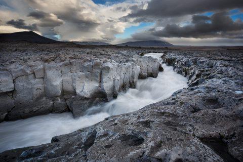 antonyz long exposure landscape river iceland volcanic granite scene