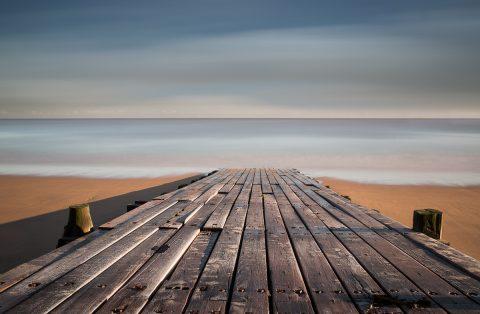 antonyz long exposure landscape tranquil ocean scene walkway calm beach