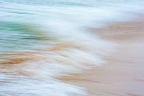 antonyz long exposure landscape tranquil ocean scene shoreline water receding waves blur