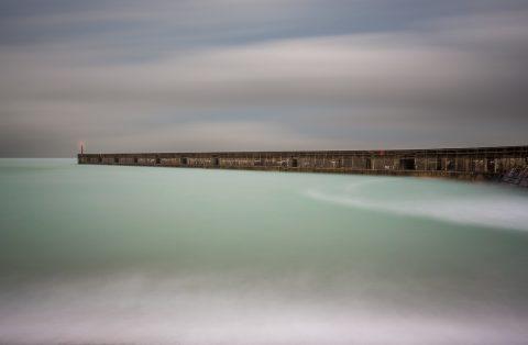 antonyz long exposure landscape ocean sea defences dock port