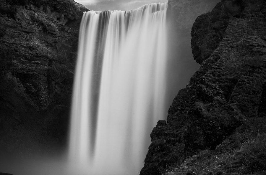 antonyz long exposure landscape skogafoss waterfall iceland reykjavik water
