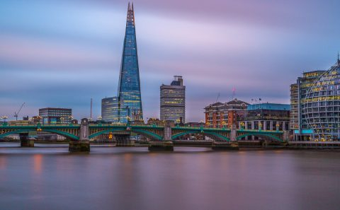 antonyz long exposure architecture skyline London shard river thames sunset