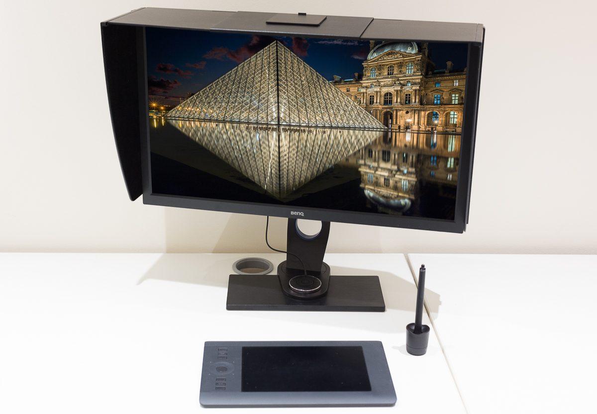 antonyz photography benq monitor louvre museum paris france