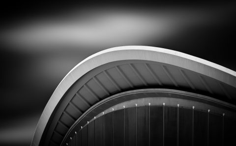 antonyz long exposure architecture black and white modern arch building