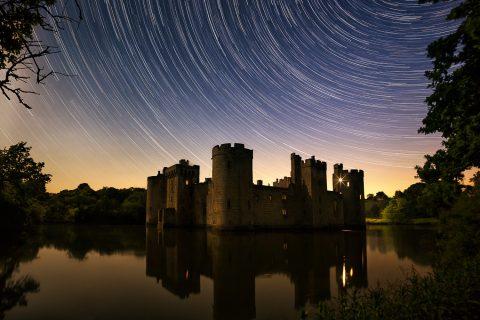 antonyz photograph castle europe star trails astro photography night sky
