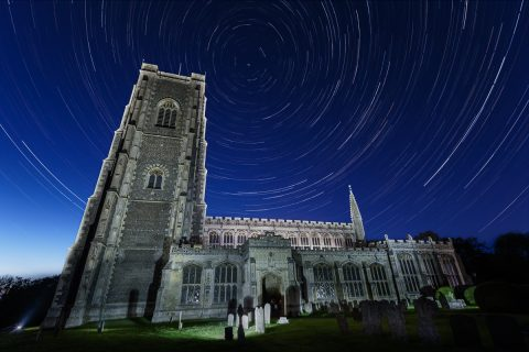 antonyz photograph church europe star trails astro photography night sky