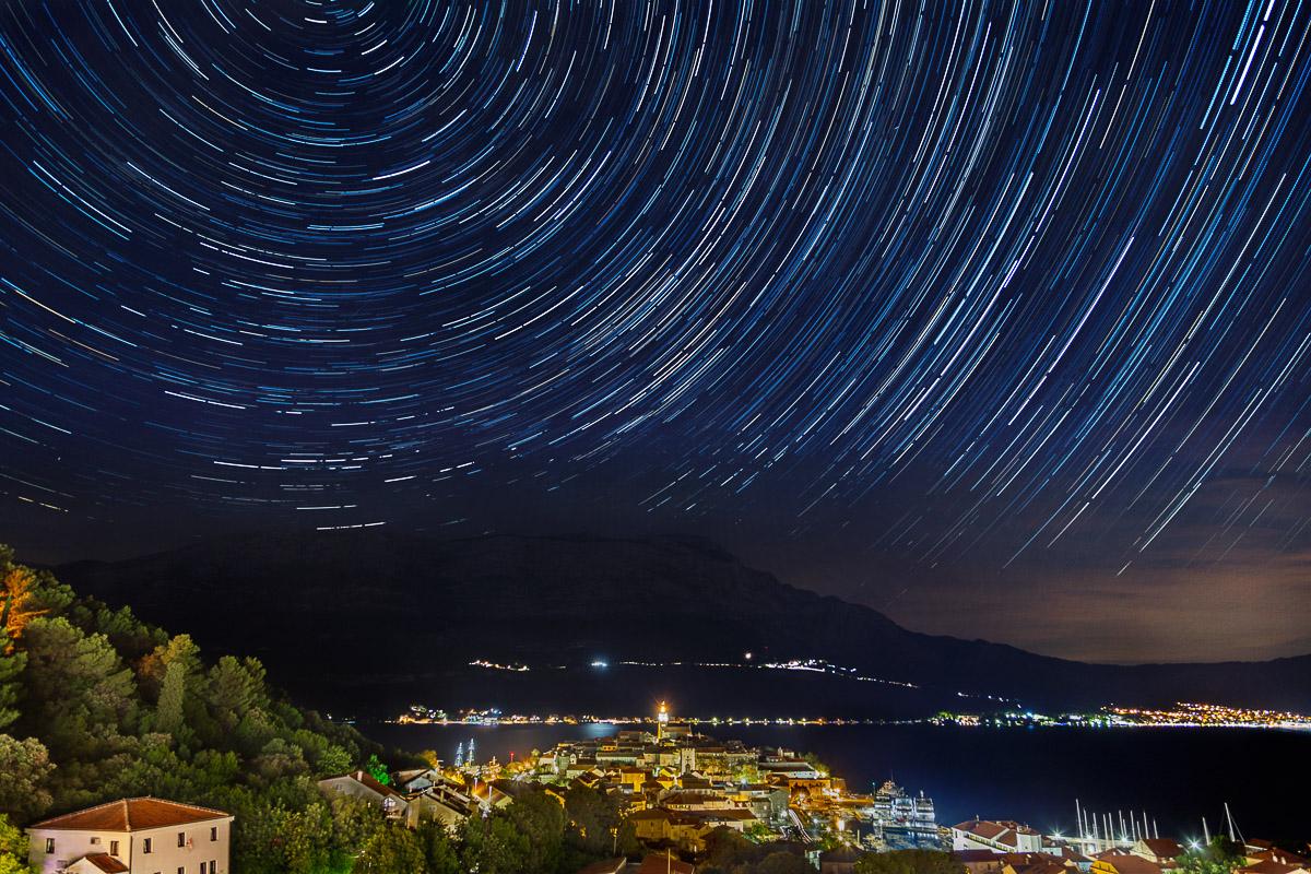 antonyz photograph croatia europe star trails astro photography night sky