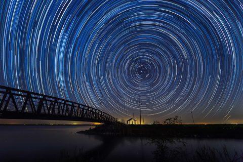 antonyz photograph florida everglades usa star trails astro photography night sky