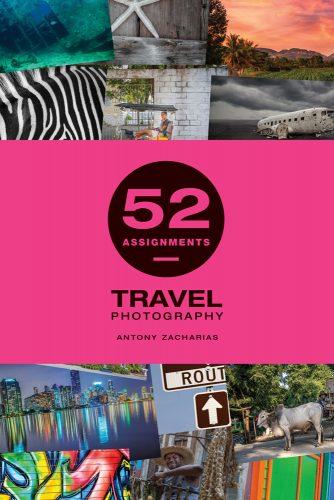 Antony Zacharias Antonyz photography book cover 52 assignments travel