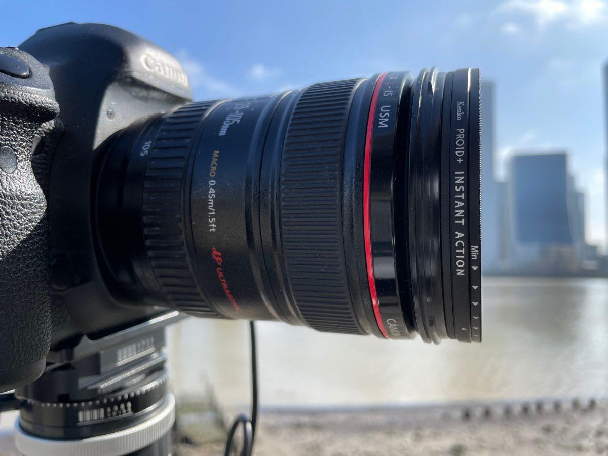 antonyz hoya instand action filters on camera