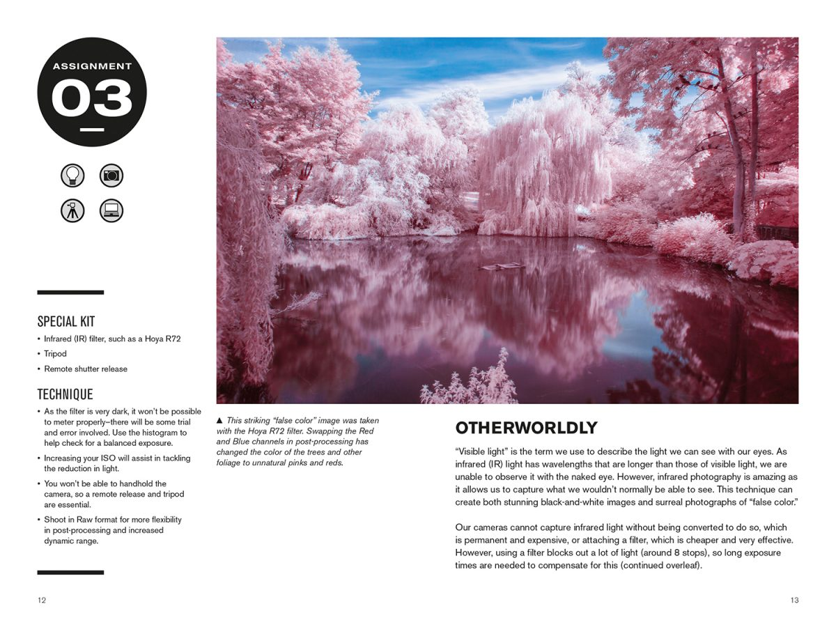 antonyz 52 assignments photographic exposure infra red techniques example pages